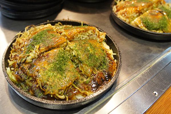本格的な広島風お好み焼きが食べられるお店!飯田橋 もみじ屋