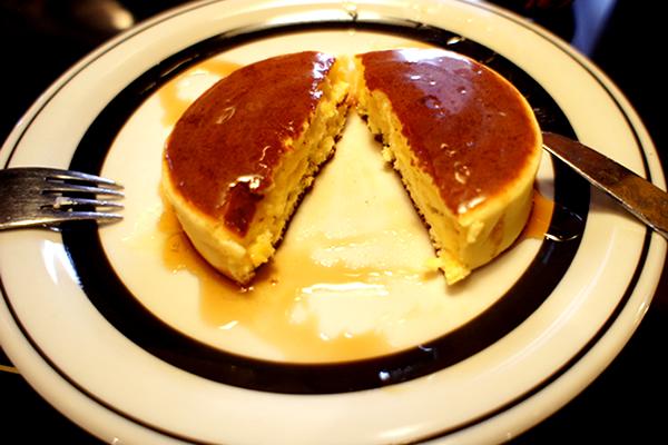 ホットケーキ断面図