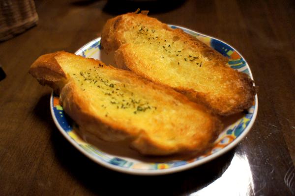 オリーブオイルトースト