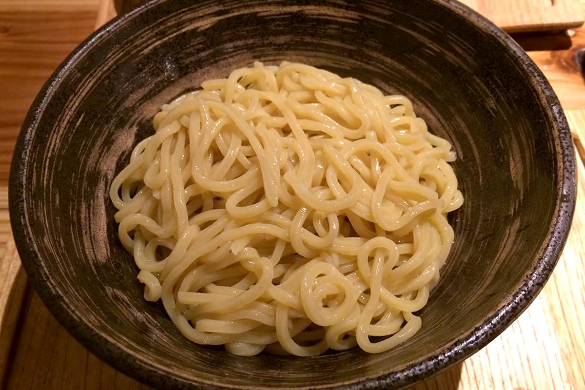 元祖めんたい煮こみつけ麺 麺